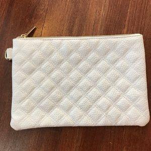 Handbags - White clutch